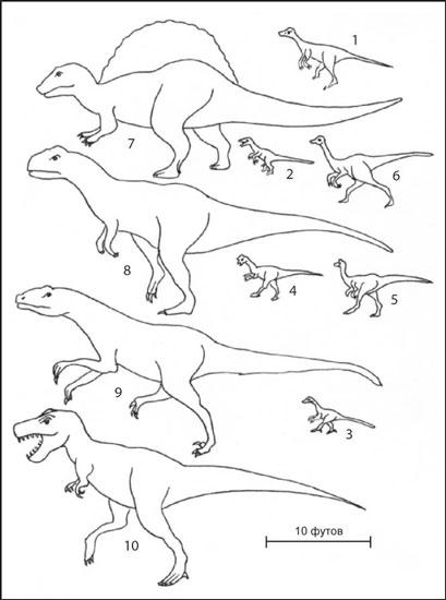 Кто кусал динозавров?