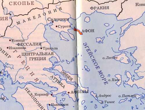Афонский Старец Хаджи - Георгий