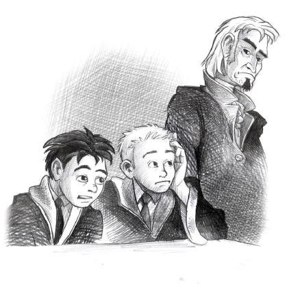 James Potter and the Hall of the Elders' Crossing