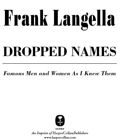 Dropped Names