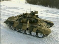 Танк Т-90. Властелин морей