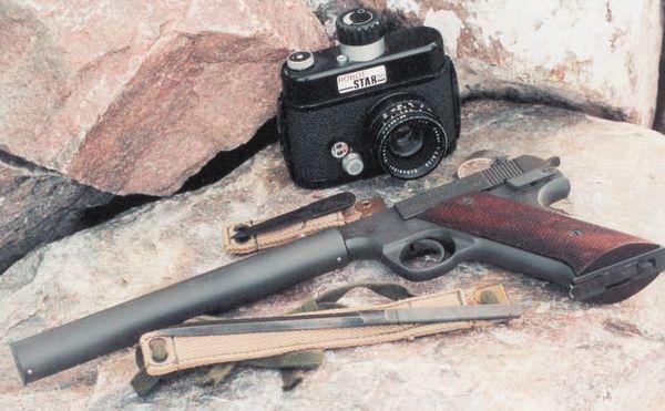 Бесшумный пистолет для OSS