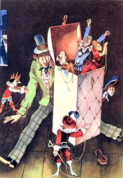 Директор кукольного театра