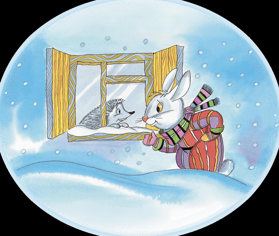 Где спят снеговики?
