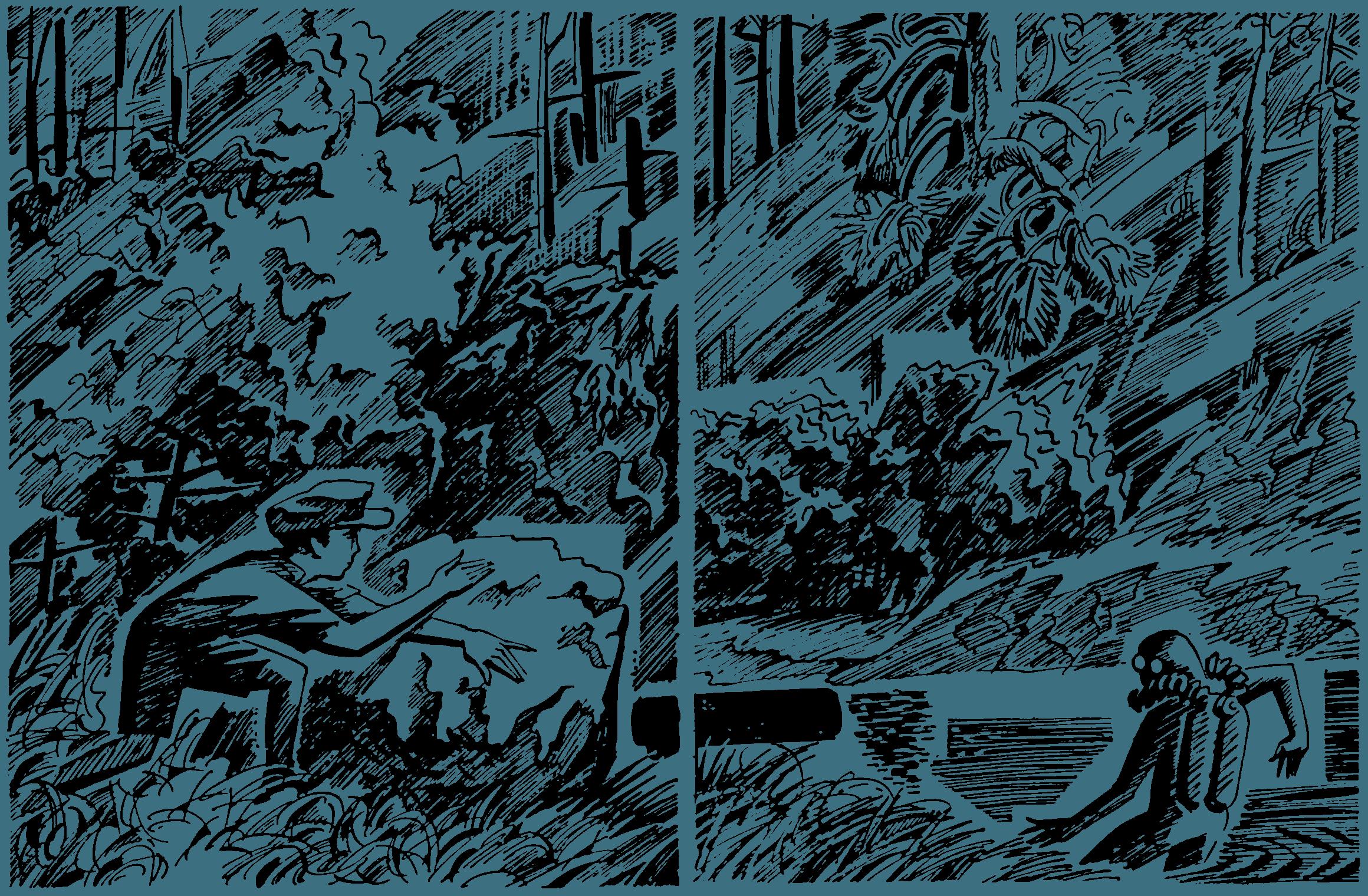 Пятёрка отважных. Лань — река лесная
