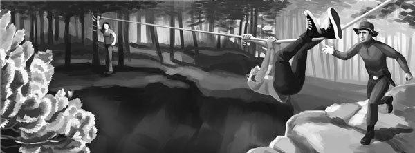 За горами, за лесами