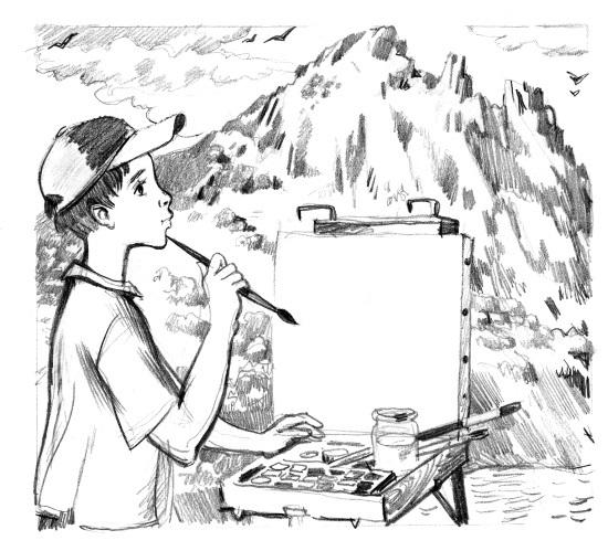 Тайна горы, или Портрет кузнечика