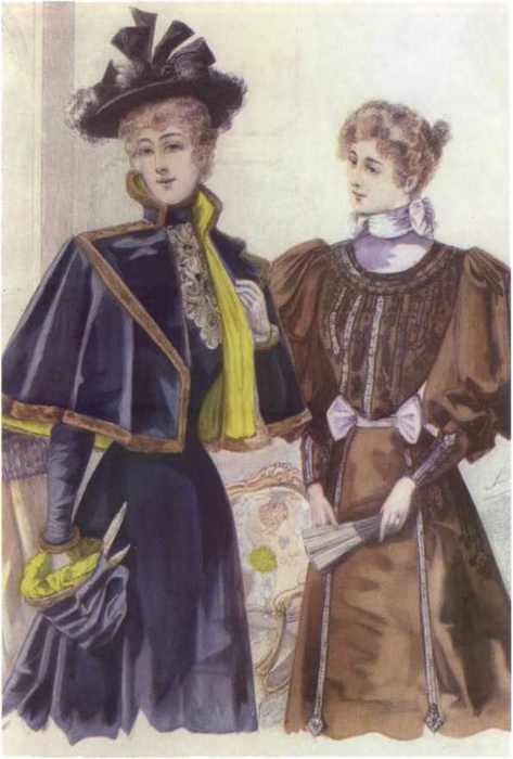 Повседневная жизнь русских щеголей и модниц