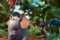 Слон Хортон слышит кого-то
