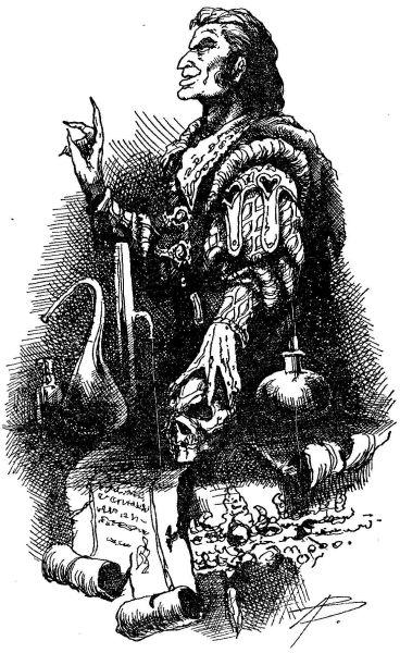 Череп колдуна