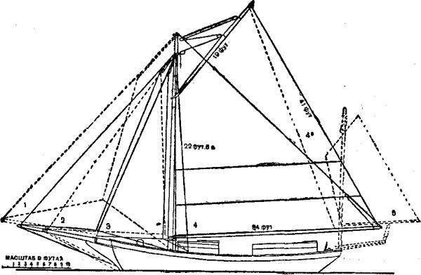 Один под парусами вокруг света (с иллюстрациями)